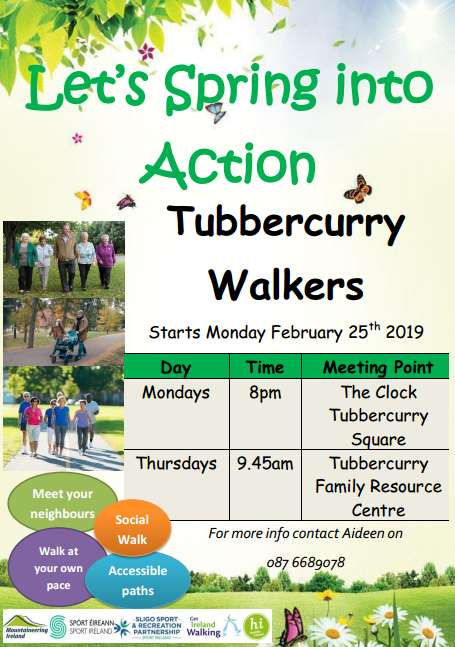 Tubbercurry Walkers @ Tubbercurry Family Resource Centre