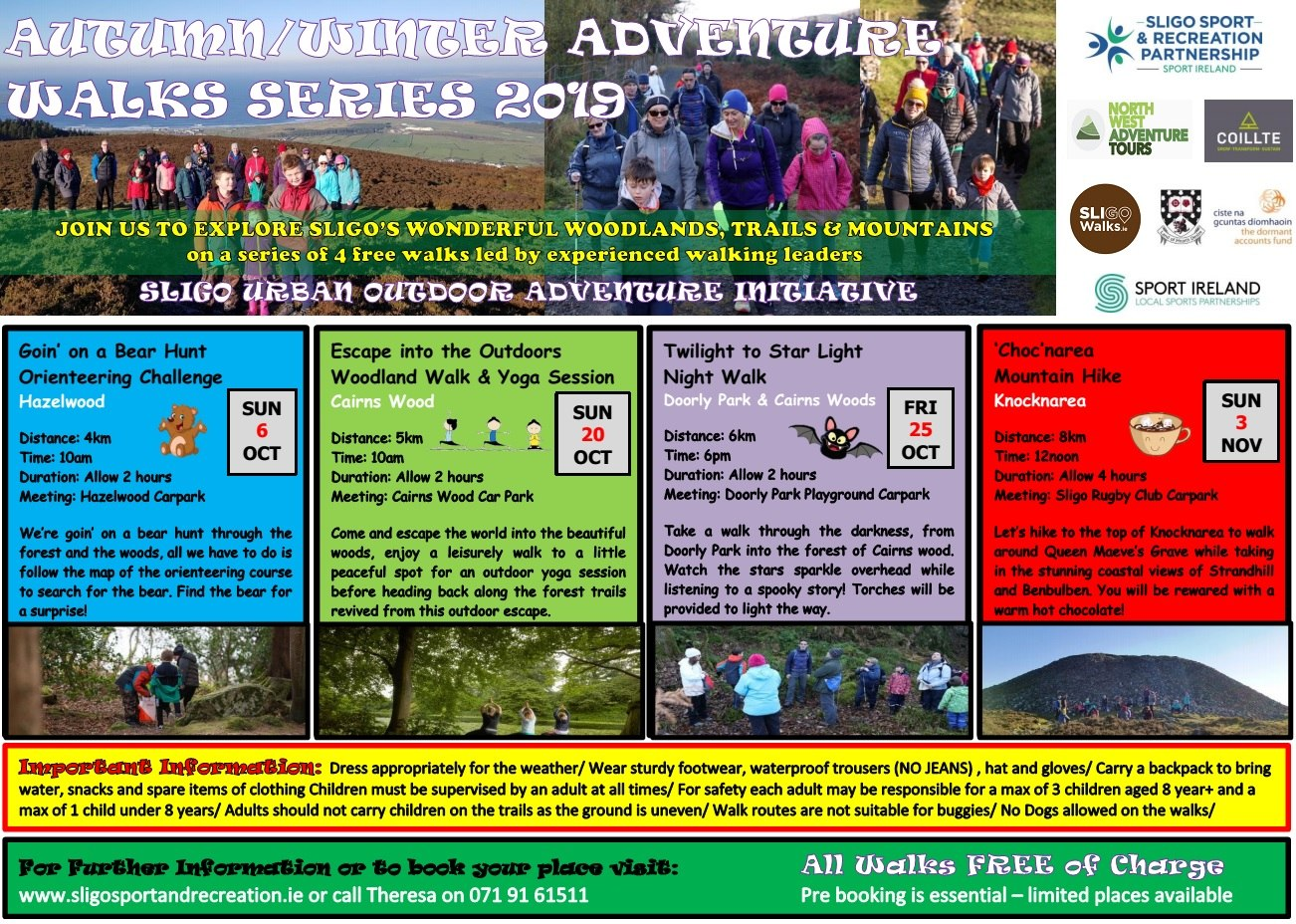 Adventure Walk Series