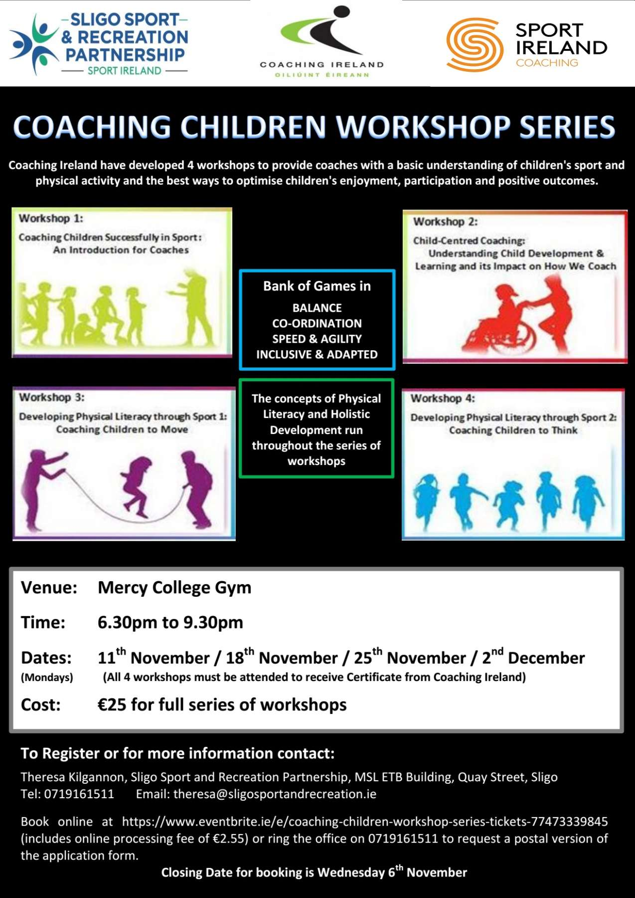 Coaching Children Workshop Series